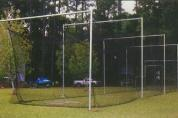 Outdoor Batting Cage Frame