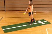 Softball Pitching Mat w/Strideline